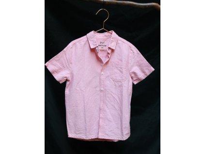 letní bavlněná meruňková košile F&F 8-9Y