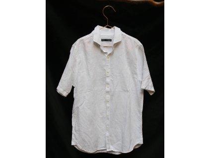 lněná smetanová košile Next 10-11Y