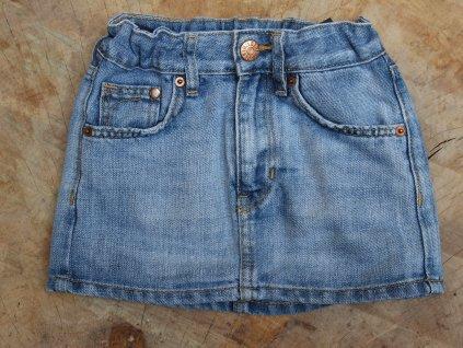 džínová sukně H&M 98