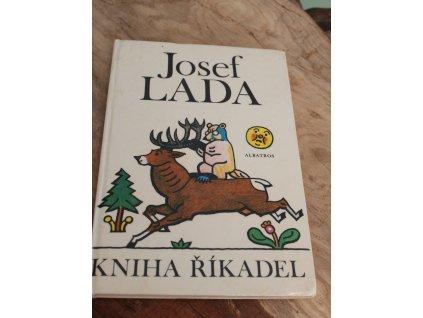 Kniha říkadel Josef Lada