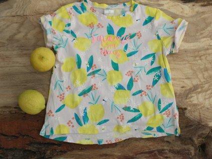 cool tričko s citróny HM 86