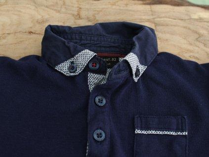 tmavě modré polo tričko s kr.rukávem Next 86