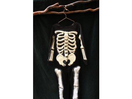 kostým nejen na Halloween KOSTLIVEC 5-6Y