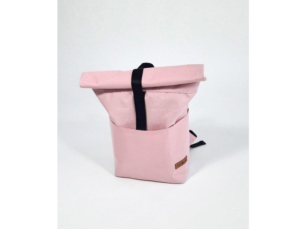 Batoh MINI dětský světle růžový