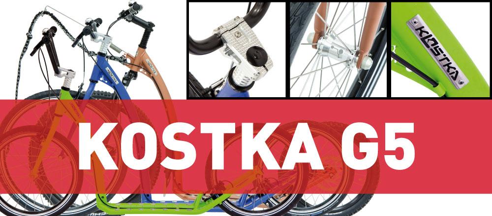 Nová modelová řada KOSTKA G5