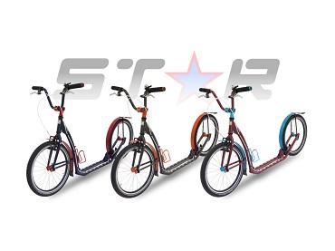 Představujeme nové barevné provedení koloběžek modelů STAR!