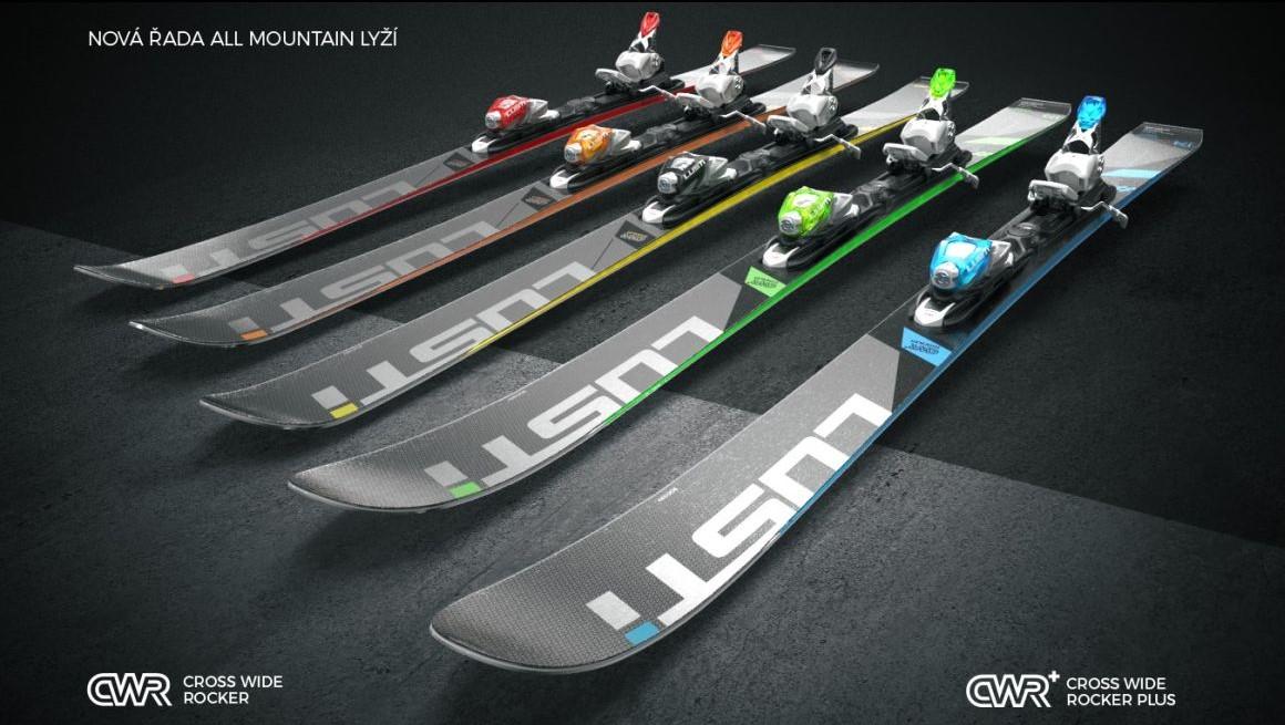 Představujeme novou kolekci lyží LUSTi 2017/18