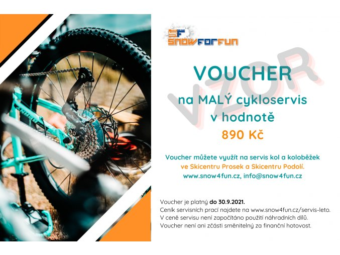 Voucher cykloservis 2021 890