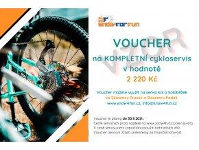 Voucher cykloservis 2021 2220