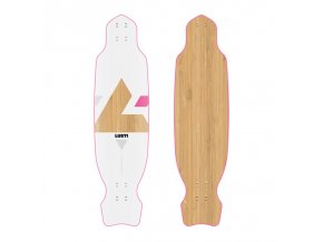 LONGBOARD CROSS WOMAN 98 CM 2016/17