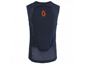scott light vest actifit black iris orange