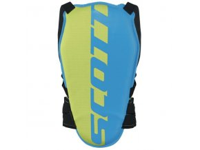 Scott Back Protector Jr Actifit vibr blue/green