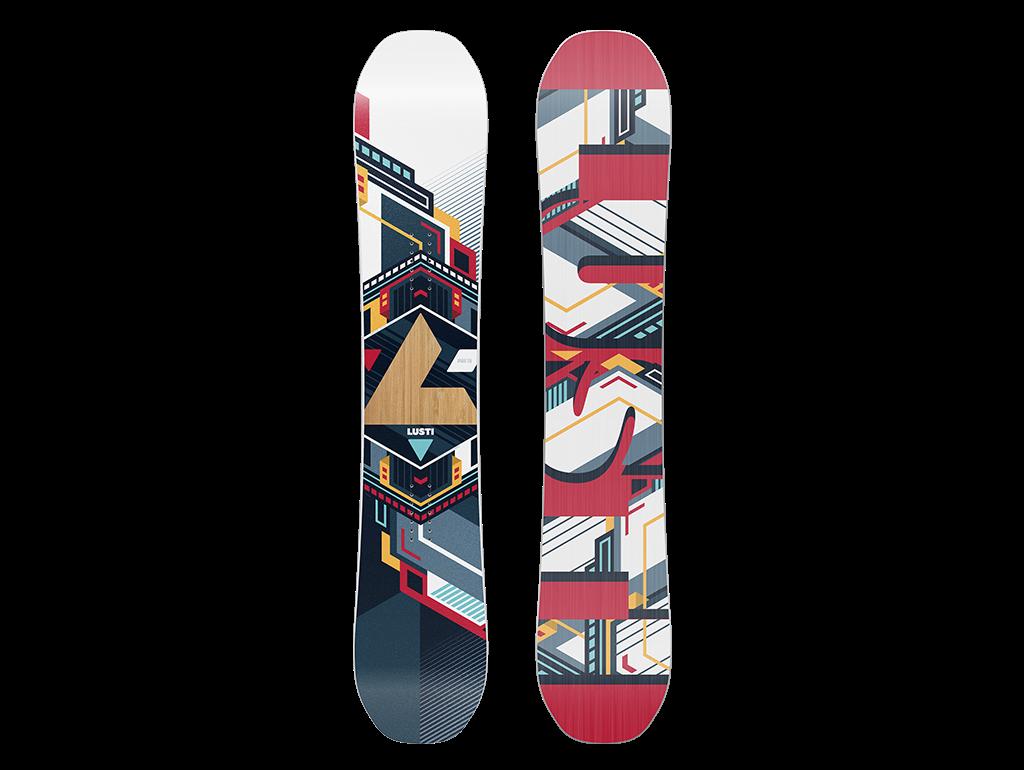 LUSTi Freestyle twin APARAT, 2017 155 cm, bez vázání