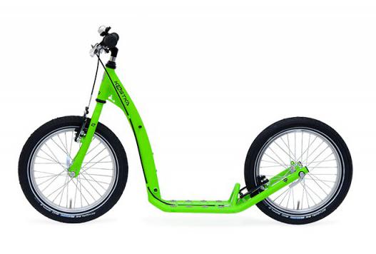 KOLOBĚŽKA KOSTKA STREET KID Zelená