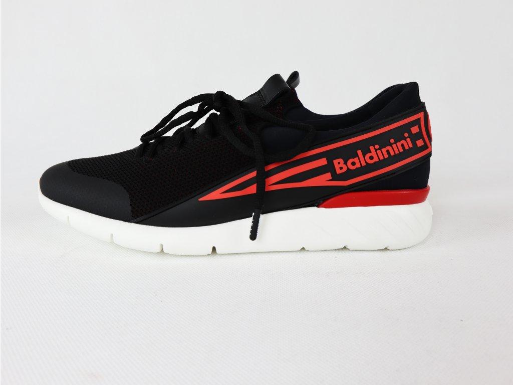 Pánské černočervené sportovní boty