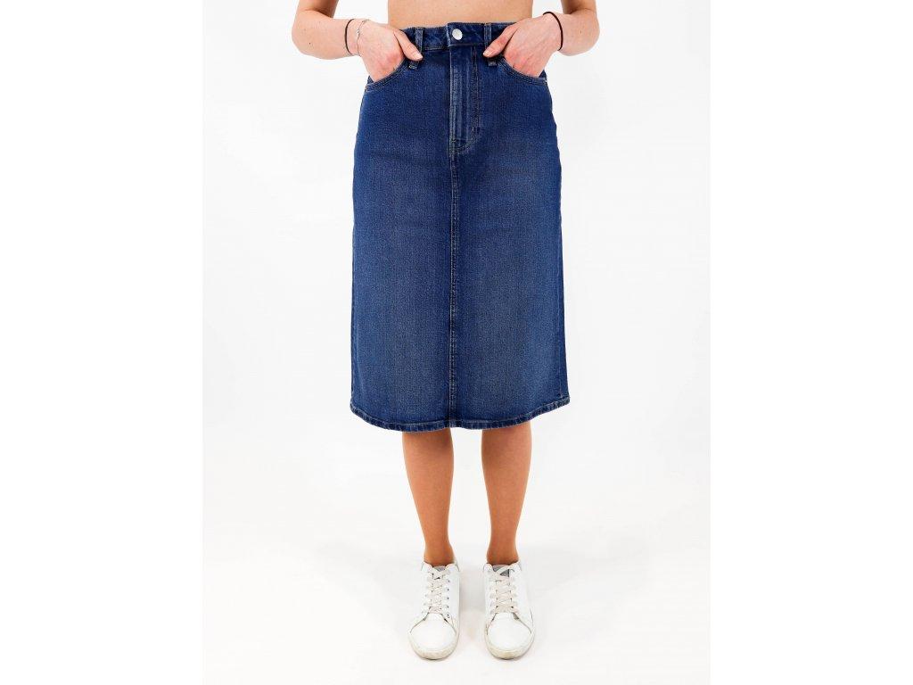 Dámská denim sukně