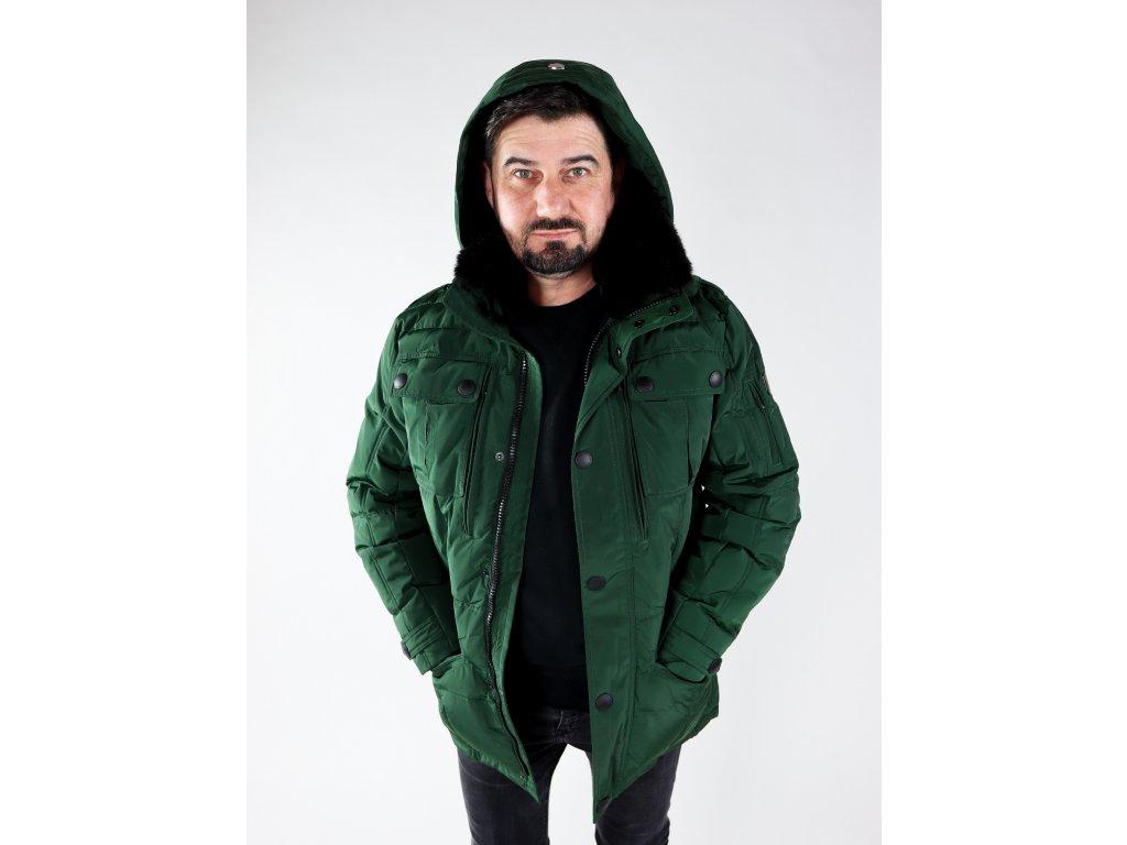 Pánská zelená bunda Snowdrift
