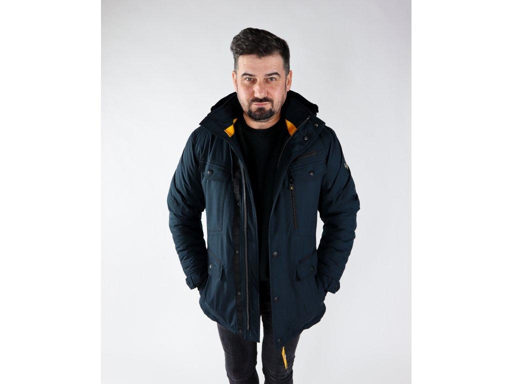 Pánská černá bunda Chester winter men