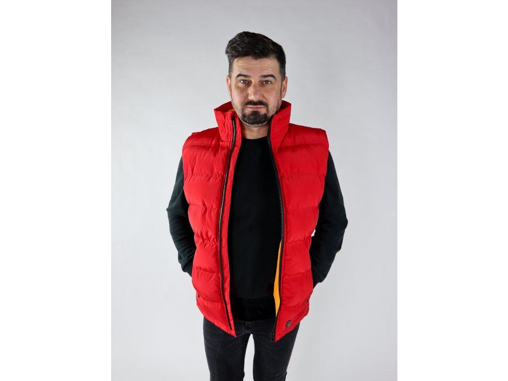Pánská červená vesta Snowdome west men