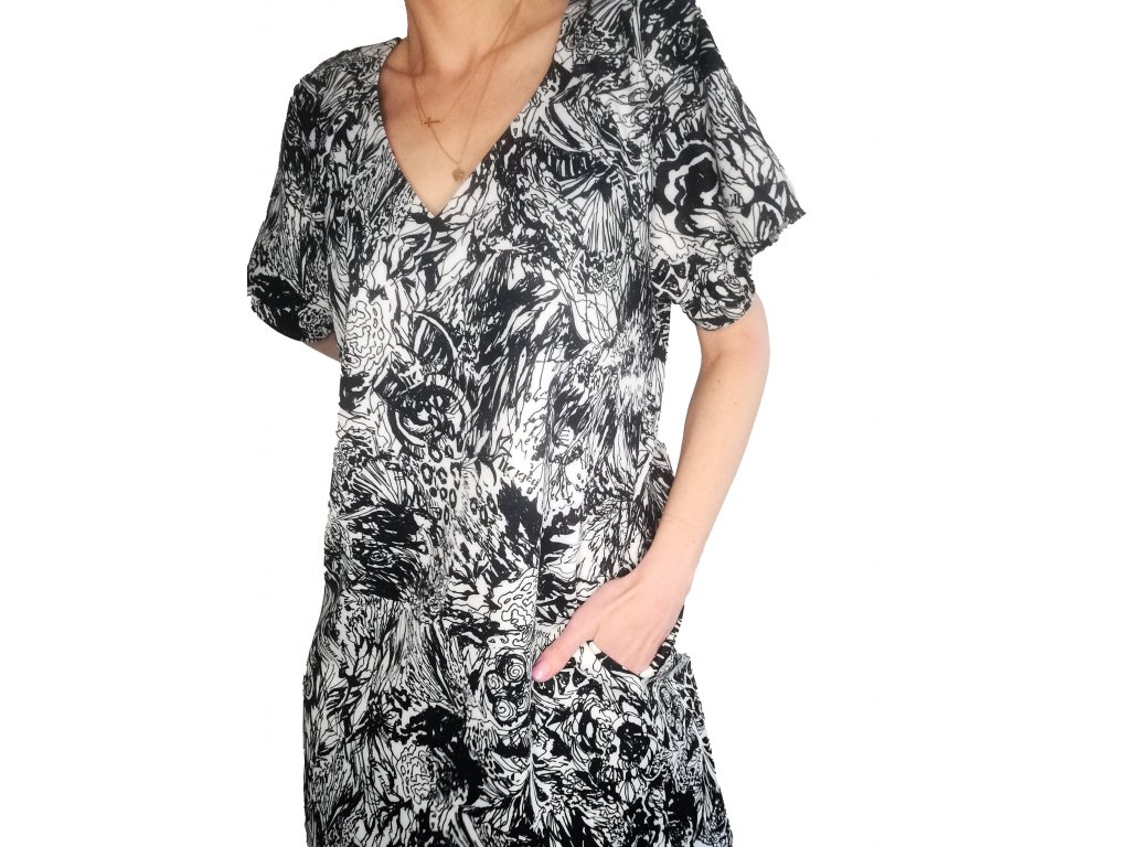 Univerzální šaty LIBERTA s krátkým rukávem