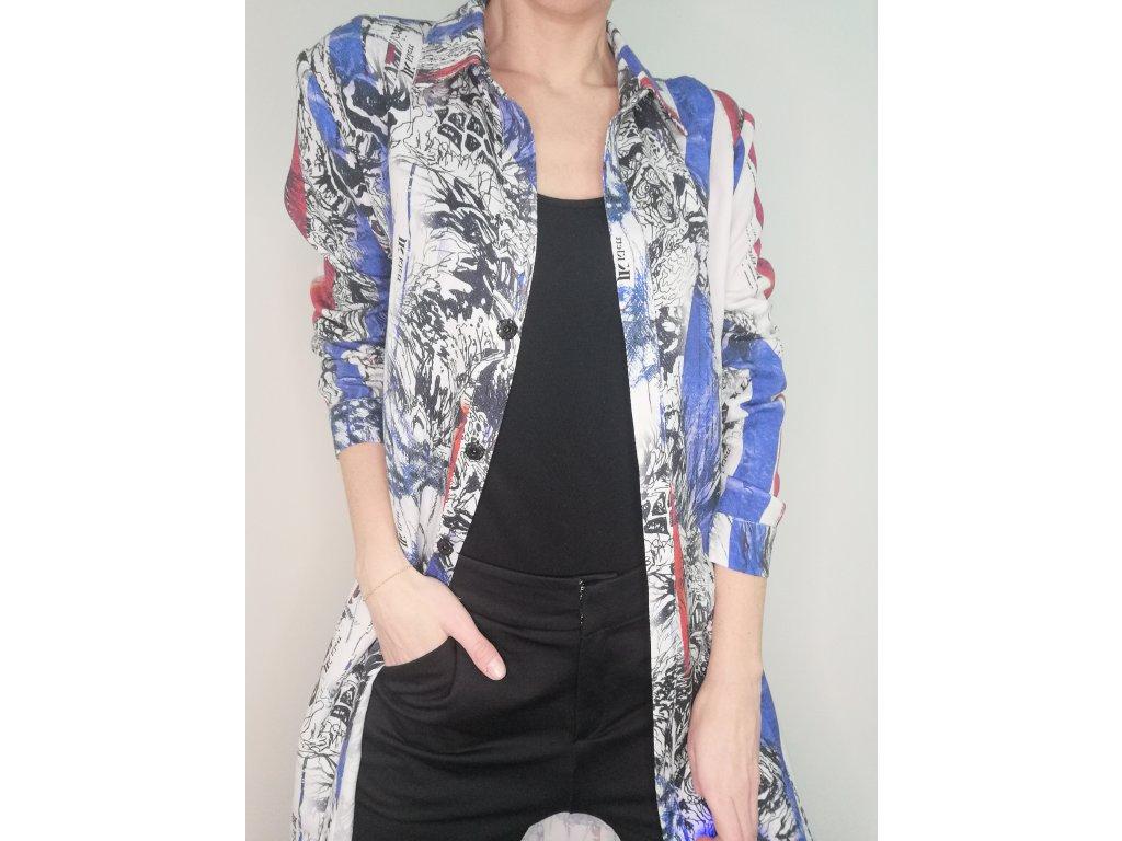 Košilové šaty/kabátek LIBERTA