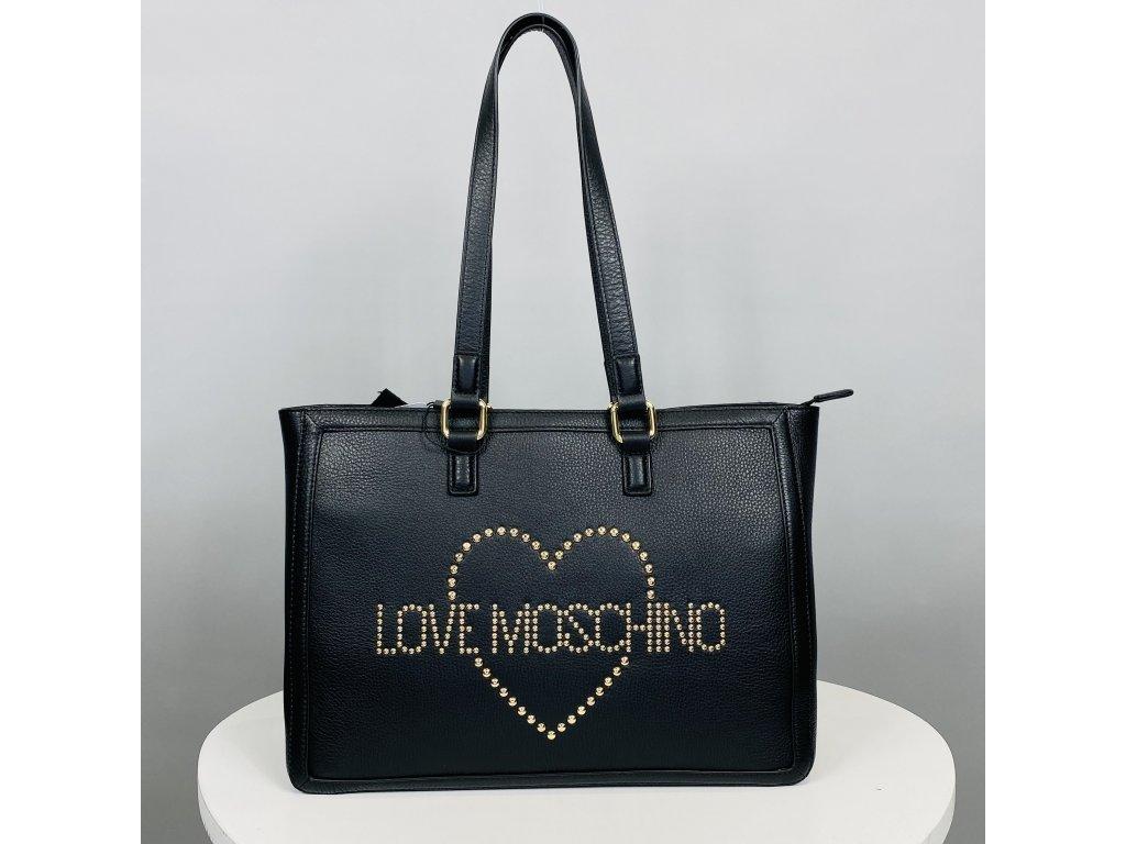 Černá velká kabelka Love Moschino