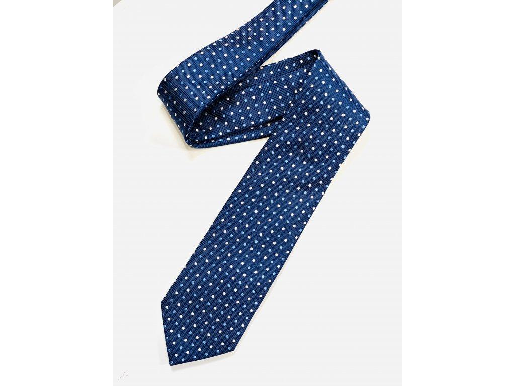 Modrá Ermenegildo Zegna kravata