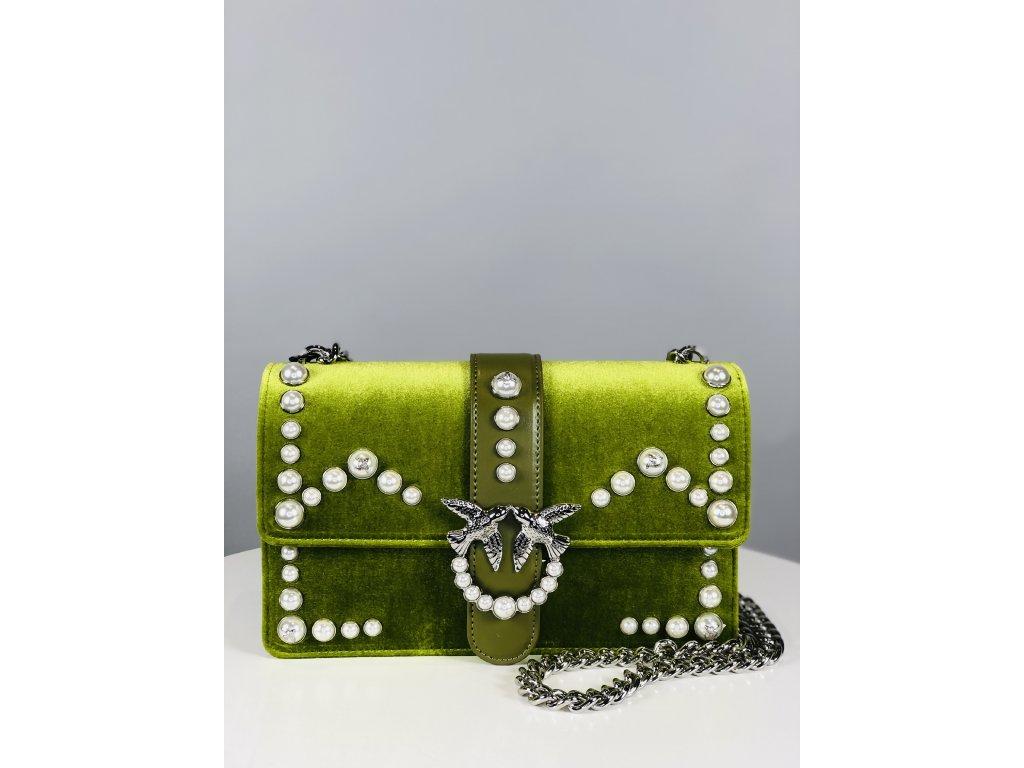 Zelená PINKO kabelka
