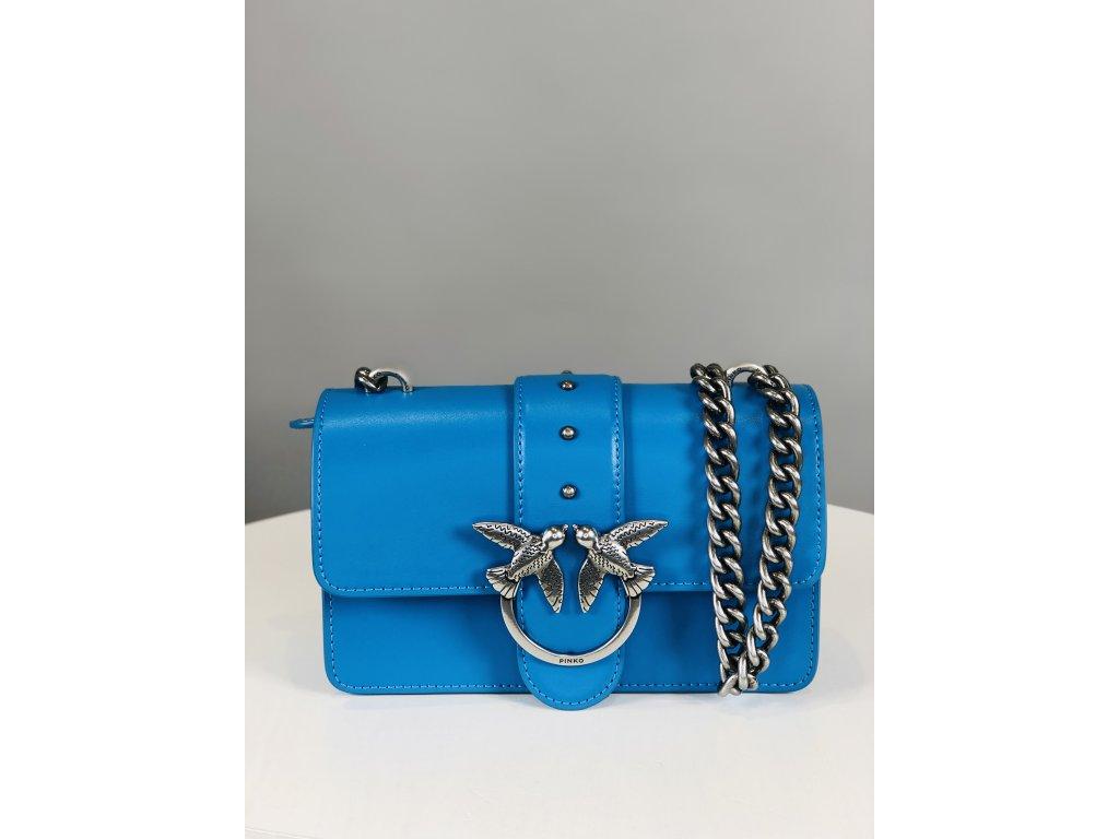 Modrá PINKO kabelka