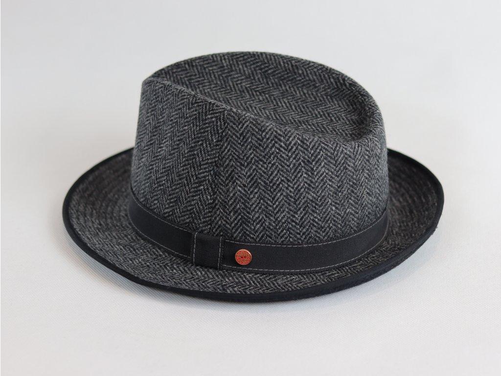 Mayser Duke Trilby černo-šedivý klobouk