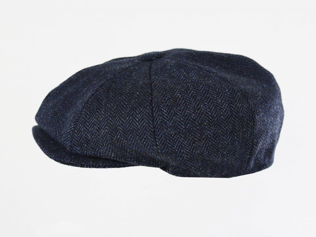 Alfonso D'Este 8-pin Shelby Harris Tweed tmavě modrá bekovka