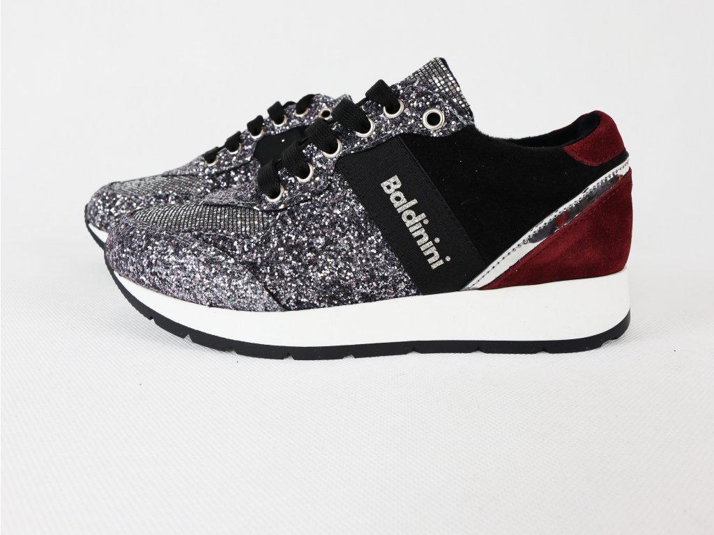Dámské černé sportovní, zateplené boty