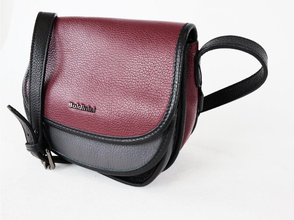 Dámská kožená kabelka Baldinini