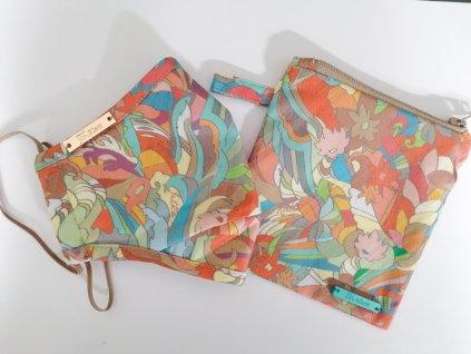 Designérská, bavlněná print Inspira barevná maska s pouzdrem