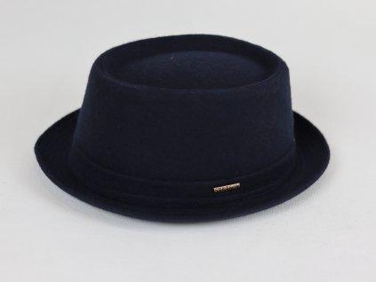 Stetson Pork Pie Teflon tmavě modrý, voděodolný klobouk