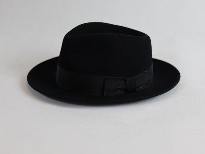 Bailey Tino Fedora černý, voděodolný klobouk