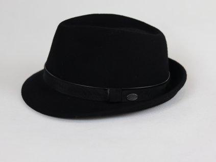 Bailey Ike Trilby černý klobouk s černou stuhou