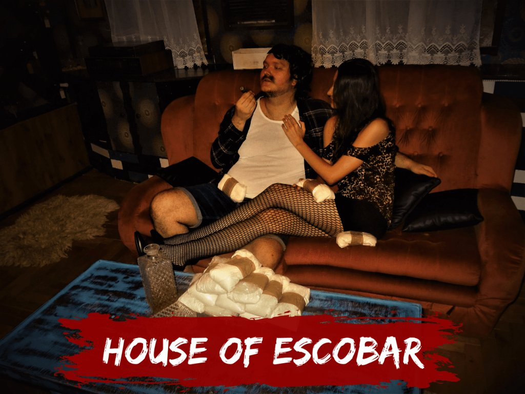 house of escobar online escape room