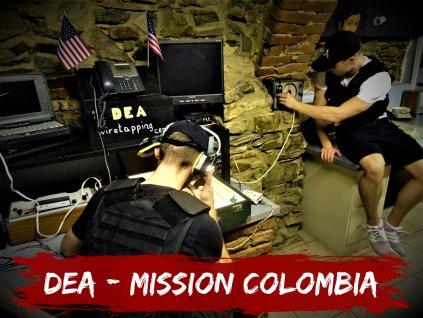 dea mission colombia online escape room virtual