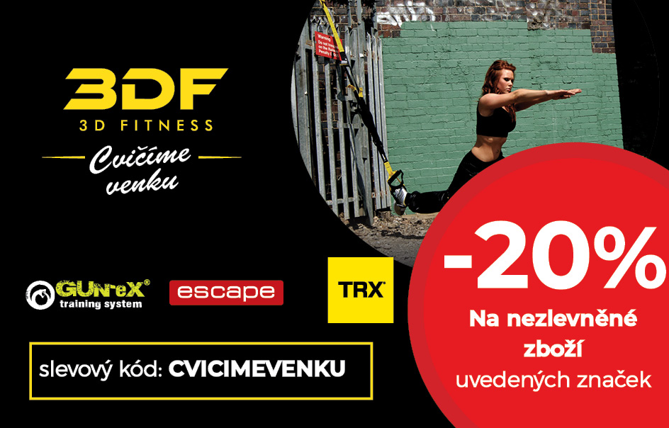 Červencová akce na 3D Fitness