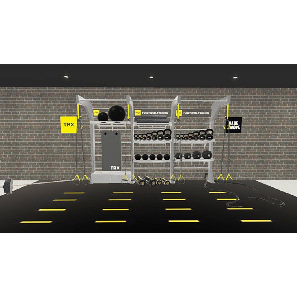 TRX® STUDIO LINE – Triple Bay (konstrukce + vybavení)_01