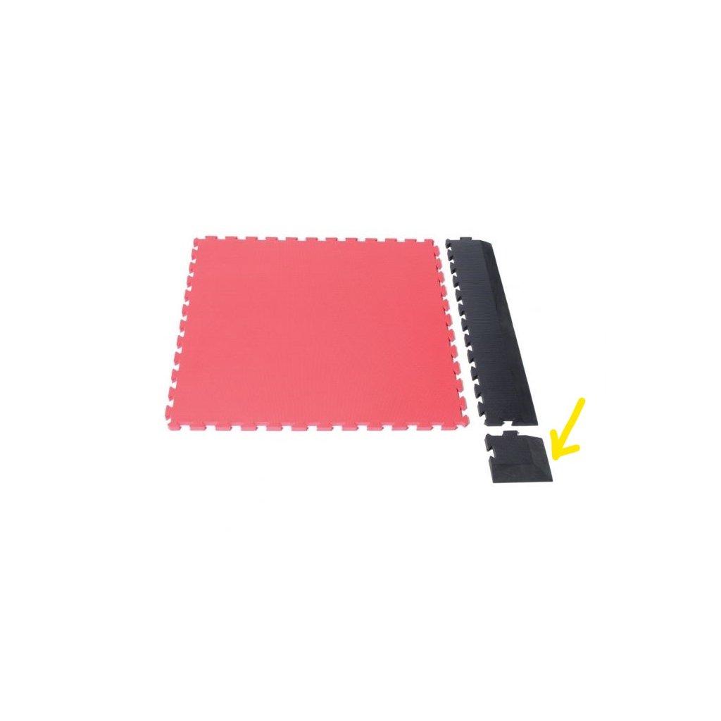 sportovni podlaha roh cerveny LI