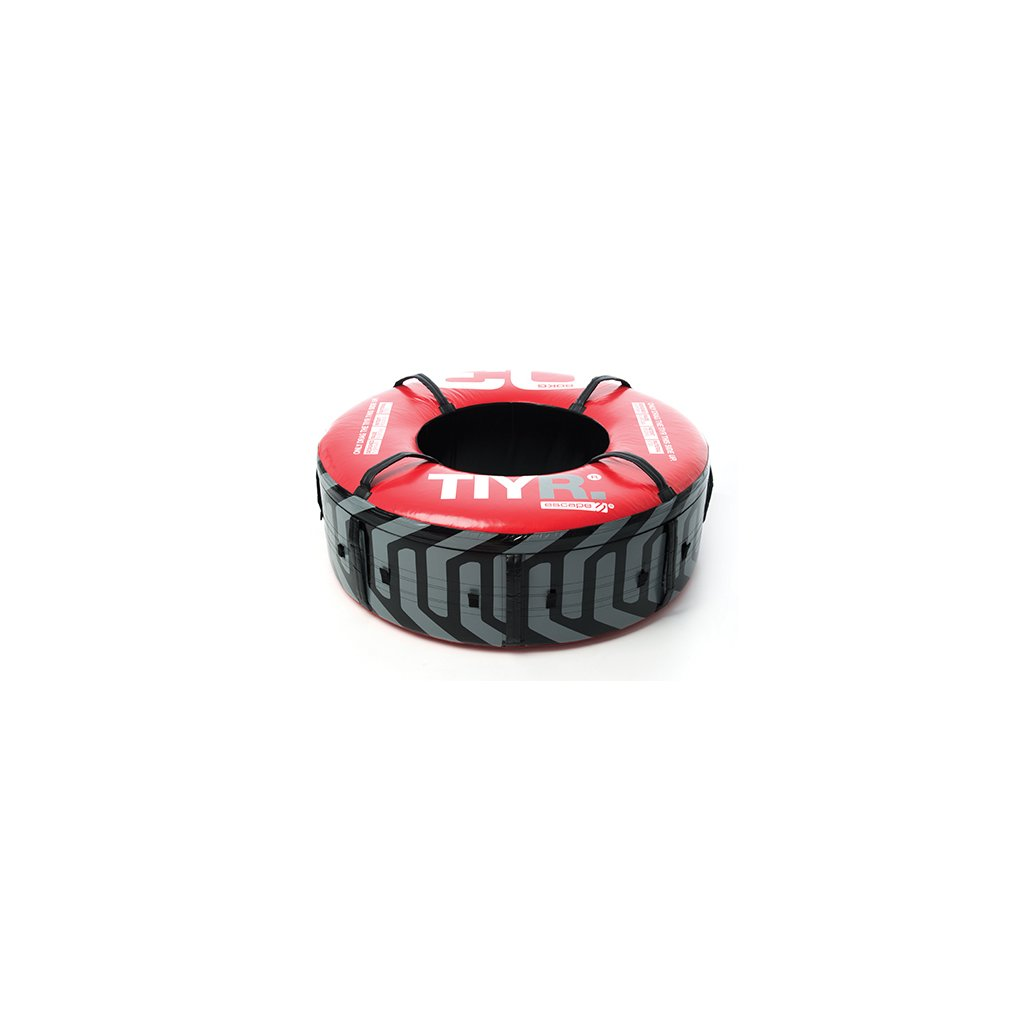 Pneumatika s úchyty 80 kg ESCAPE (červená)_01