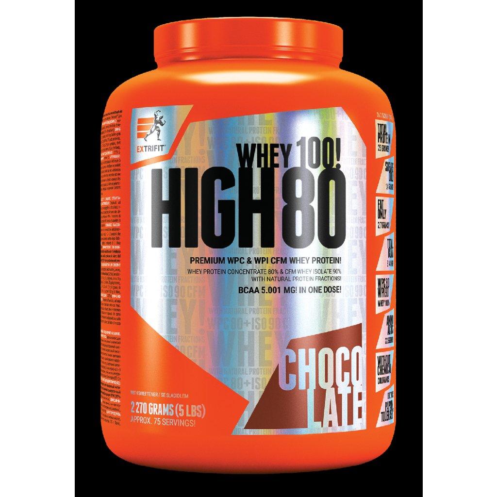 EXTRIFIT® High Whey 80 – vanilkový, 2,27 kg_01