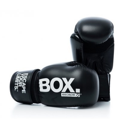 Escape Boxovací rukavice – větší (černé)_01