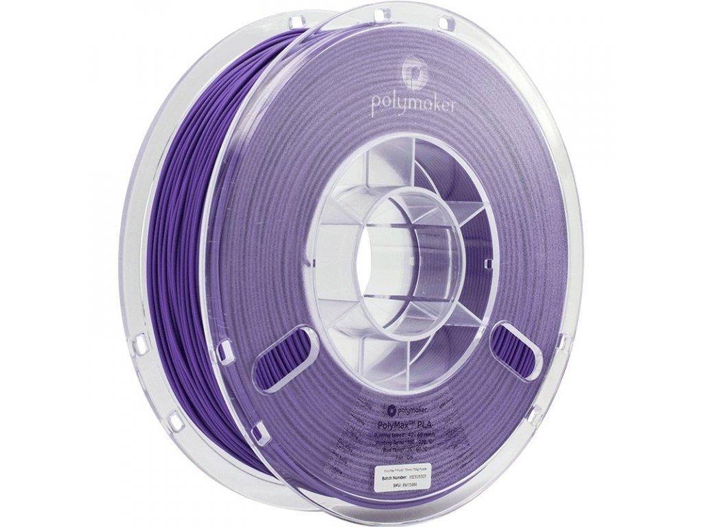 PolyMax PLA Purple 175 Spool Picture Asymmetric
