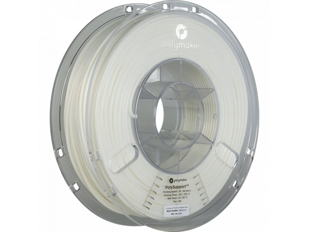 Specialty PolySupport Pearl White 285 Spool Picture Astmmetric