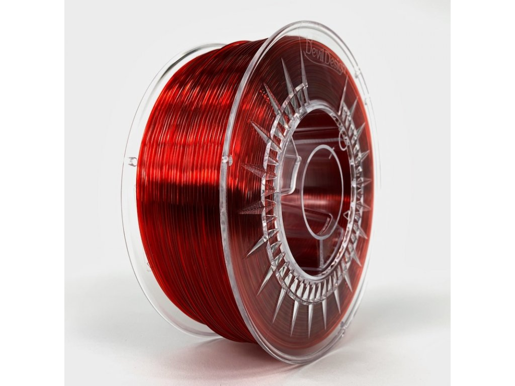 PMMA 175 RUBY RED TRANSPARENT