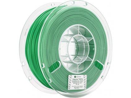 PolyLite PETG Green 175 Spool Picture Asymmetric