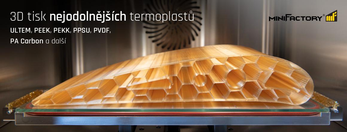 MiniFactory – 3D tisk ultra polymerů